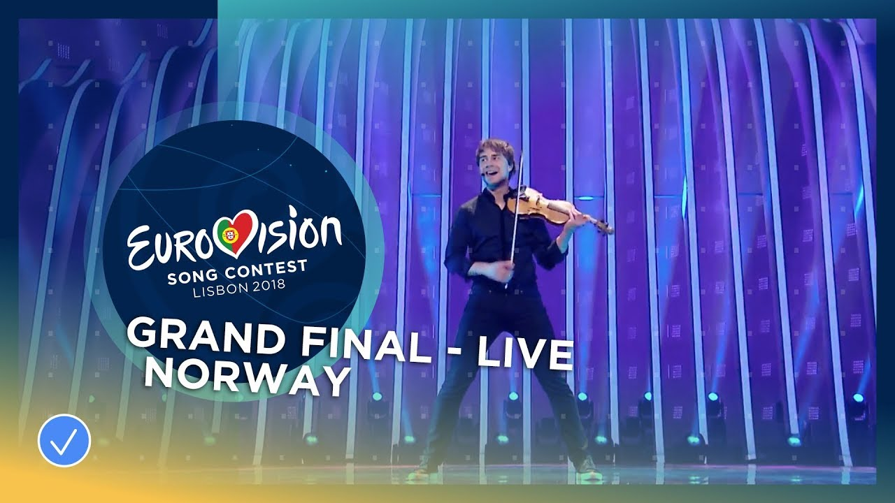 Alexander Rybak - That's How You Write A Song (Norra 2018)