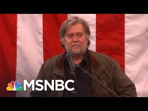 Steve Bannon Speechless After Roy Moore Loss In Alabama | The Last Word | MSNBC