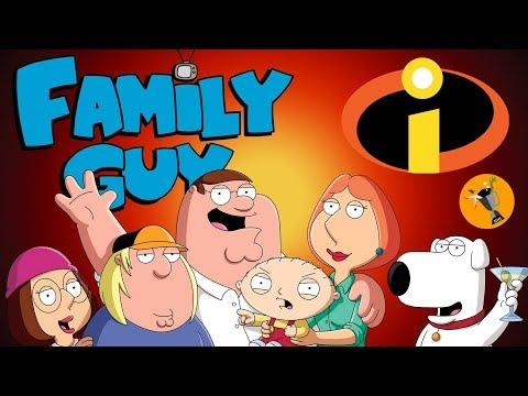 Incredibles 2 Trailer - Family Guy Style