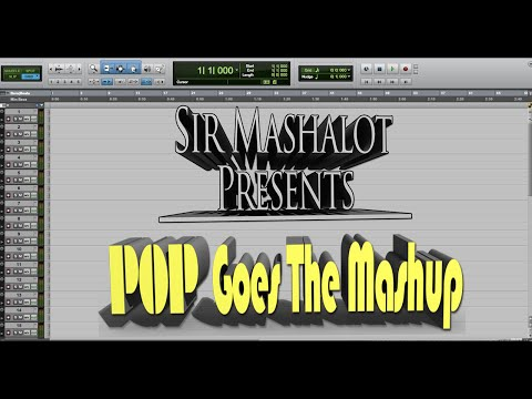 pop goes the mashup by sir mashalot with 25 12 songs including ghostbusters