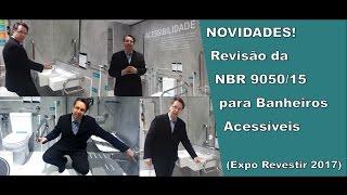 Revisão da NBR 9050/15 para Banheiro