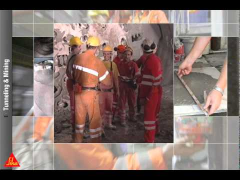 Sika Solutions For Tunnelling & Mining