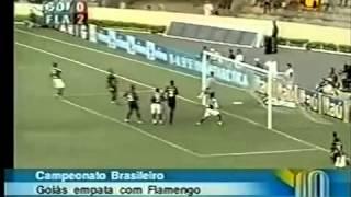 Brasileirão 2004 - Estádio: Serra Dourada - Goiás 2 x 2 Flamengo - Gols do Verdão: Alex Dias - Público: 23.731 - Imagens: SporTV ...