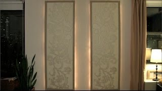 How to make lighted floating wall panels - Season 1 - Ep. 10 - YouTube