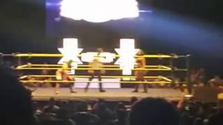 Ember Moon vs Asuka for the NXT Women's Championship.