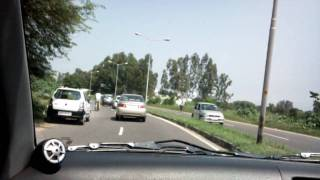 Mohali India  city pictures gallery : car journey in mohali india recorded using omnia hd at 720p