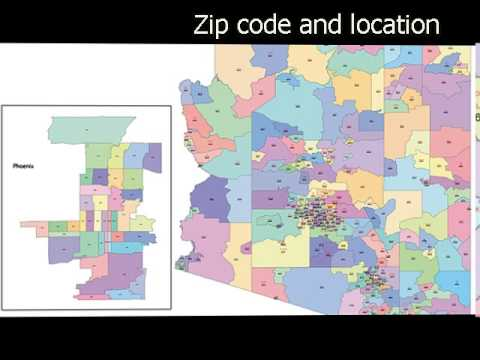 lot de 4 cartes de l 'Arizona maps of Arizona TBE comme neuf 1920