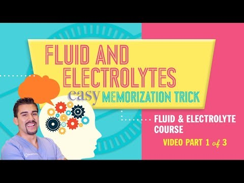 Fluid and Electrolytes Easy Memorization Tricks for Nursing NCLEX RN & LPN