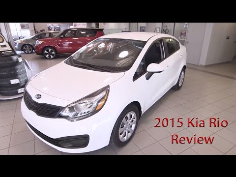 2015 Kia Rio Specs and Pricing | Calgary Kia Dealer Review
