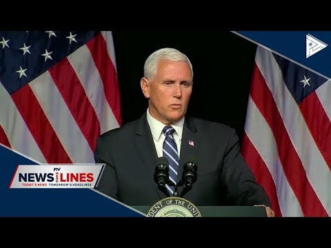 GLOBAL NEWS | Pence: Proposed space force needed