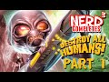 Nerd Completes Destroy All Humans Part 1