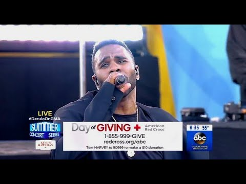 Jason Derulo - If Im Lucky - GMA (LIVE)