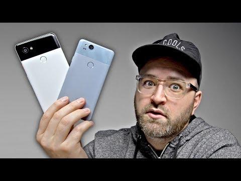 Google Pixel 2 and Pixel 2 XL Hands On!