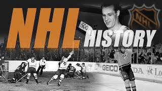 The History of the NHL