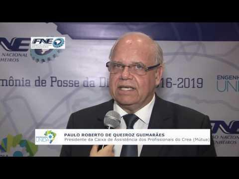 Paulo Roberto de Queiroz Guimarães – Presidente da Caixa de Assistência dos Profissionais do Crea (Mútua)