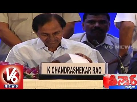 CM KCR Plans for 9 Days Foreign Tour to Attract Investors - Teenmaar News (01-09-2015) 02 September 2015 01 17 AM