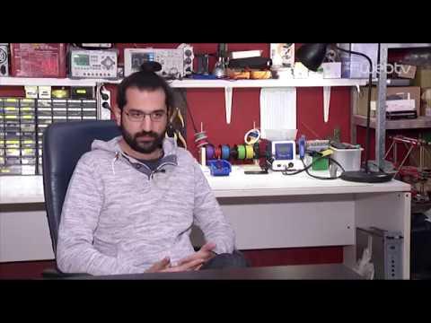 UPSat –  Συνέντευξη του Πιέρρου Παπαδέα στο χώρο του Hackerspace.gr