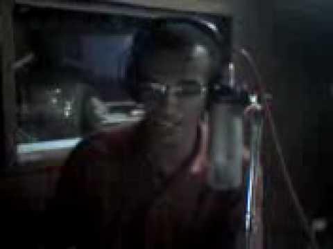 Estúdio da rádio Lapa FM - Amélia Rodrigues-BA