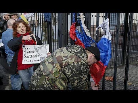 Ουκρανία: Διαδηλώσεις για την απελευθέρωση της Νάντια Σαβτσένκο