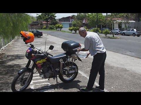 Βραζιλία: Μοτοσυκλέτα «καίει» νερό – hi-tech
