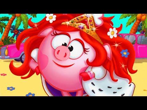 Смешарики. Кулинария 1 Развивающий игровой мультик для детей ПОМОГАЕМ СМЕШАРИКАМ.ФГГТВ