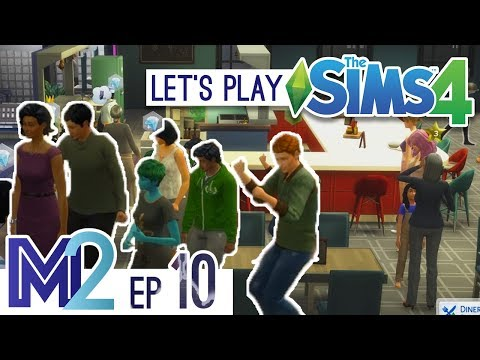 Sims 4 - Restaurant Grand Opening! (Eden-Cho Season 3 Ep 10)