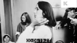1960s Berkeley Student Protest, Joan Baez, Tom Hayden, Cops