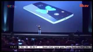 Ra mắt điện thoại thông minh Bphone sản xuất tại Việt Nam, bphone, dien thoai bkav, smartphone cua bkav, bkav phone, Bphone Bkav, bkav