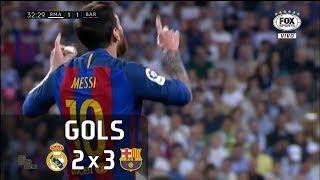 Video Gols - Real Madrid 2 x 3 Barcelona - La Liga 16-17 - Fox Sports HD MP3, 3GP, MP4, WEBM, AVI, FLV Agustus 2019