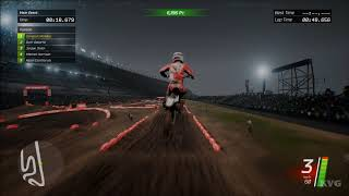 Monster Energy Supercross - Cloudy Gameplay (PC HD) [1080p60FPS]