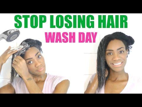 Wash Day - Stop Losing Your Hair | 4C - 4B Natural Hair