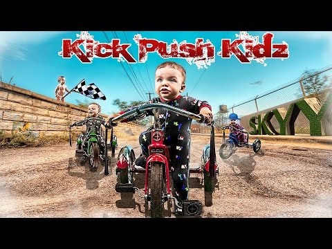 Kick Push Kidz- Young And Reckless (edit Hd) [kpk]