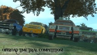 GTA IV PC - 2/4/13 - Offroad Time Trial Competition w/Realistic Truck Mods!