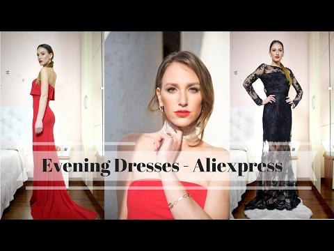 Вечерние Платья с Алиэкспресс  - Выглядеть Дорого не Тратясь | Evening Dresses from Aliexpress (видео)