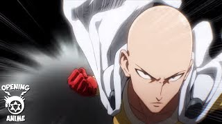 One Punch Man Opening (ワンパンマン) HD - Opening Anime 2015