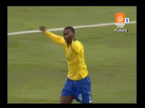 Gol de Juan con Brasil