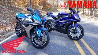 5. Yamaha R6 vs Honda CBR600rr | The BEST 600cc SPORT BIKE?