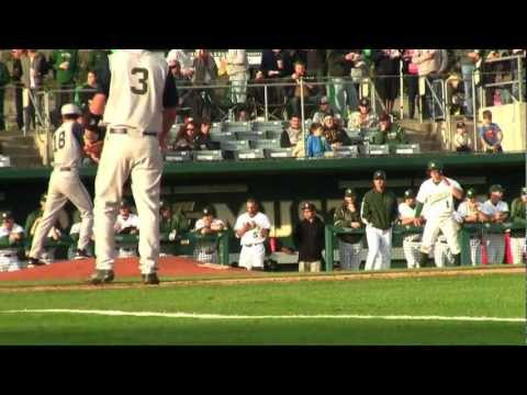 Cal Poly vs Notre Dame Baseball Highlights -- March 14, 2013