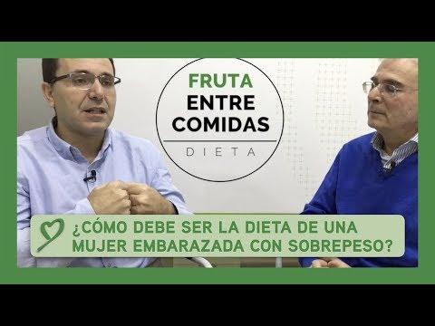 ¿Cómo debe ser la dieta de una MUJER EMBARAZADA con SOBREPESO?