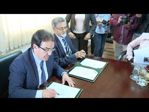 العرب اليوم - شاهد:وزارة شؤون الهجرة توقع اتفاقية مع المعهد الملكي للثقافة الأمازيغية