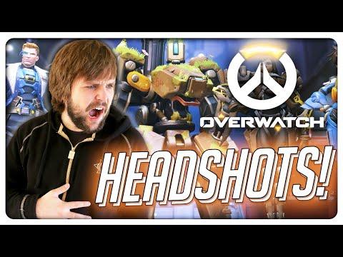 HEADSHOTS in OVERWATCH! (видео)