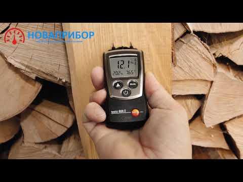 Влагомер древесины и стройматериалов карманный testo 606-1 Артикул: 0560 6060. Производитель: Testo SE & Co. KGaA.