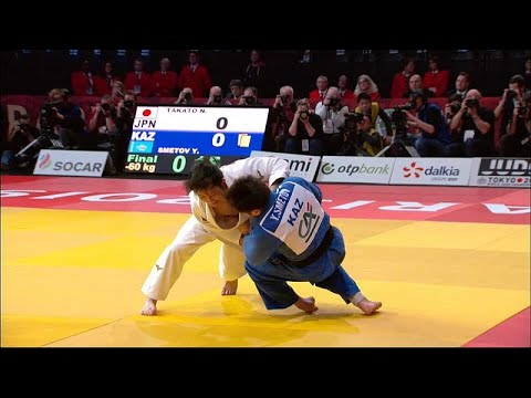 Paris: 4 Goldmedaillen beim Judo Grand Slam für Japan