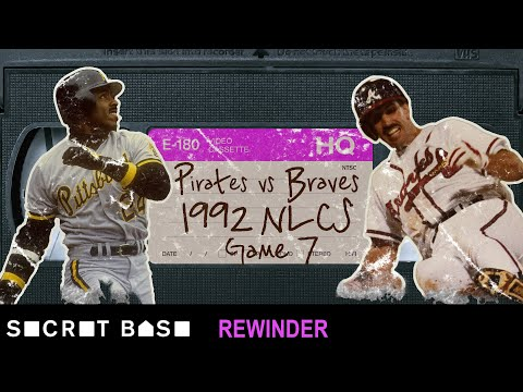 Video: The Atlanta Braves' last-ditch comeback vs. the Pittsburgh Pirates needs a deep rewind | 1992 NLCS