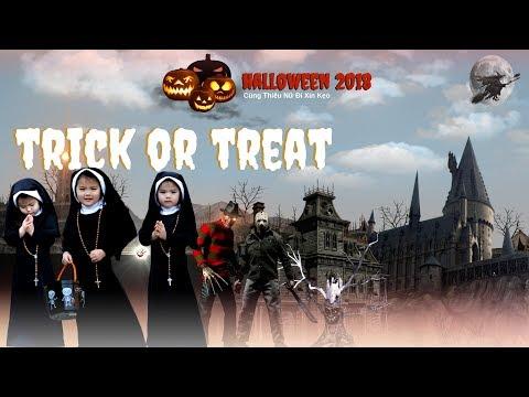 Halloween 2018 ★ Cùng Thiếu Nữ Đi Xin Kẹo - Thời lượng: 37 phút.