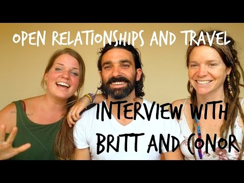 Open Relationships and Travel || Lifestyle Interview with Brittany and Conor