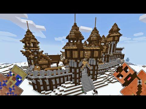 Dev Kale Surları ( TEHLİKELİ YOL ) | Minecraft Kale MOD #20