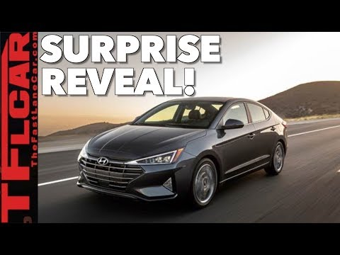Surprise World Debut! Here's the Refreshed 2019 Hyundai Elantra (видео)