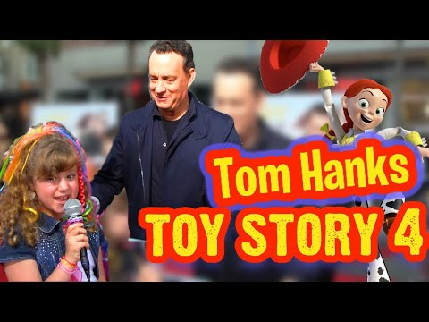 TOM HANKS Interview about TOY STORY 4 & LARRY CROWNE with PRO KID REPORTER PIPER REESE (PQP #057)