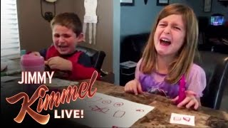 YouTube Challenge - I Told My Kids I Ate All Their Halloween C...